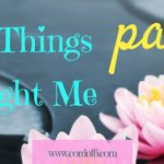 5 Things Pain Taught Me