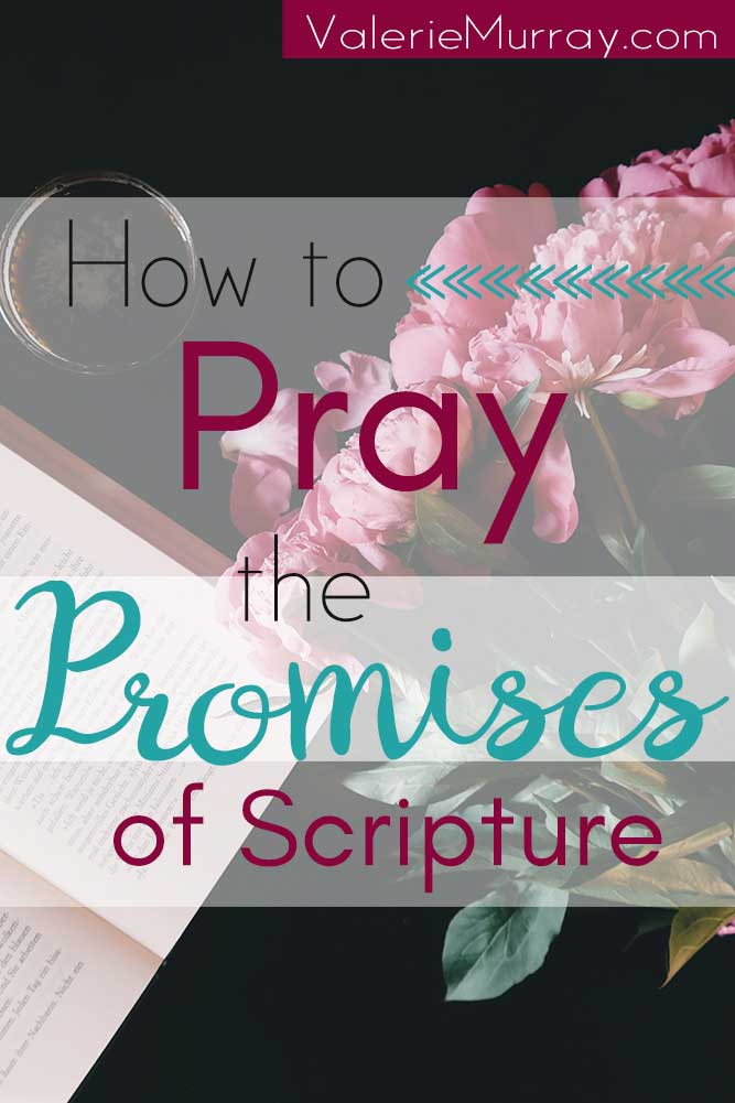 Don't let the fear of not knowing how to pray keep you from prayer. Here's a guide to learn how to pray the promises of Scripture.