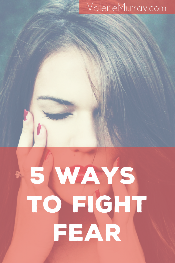 "Paul tells us in 1 Timothy 6:12 to fight the good fight of faith, he uses action words like ""flee,""pursue,""fight,""take hold."" Learn five ways to fight fear in your life!"