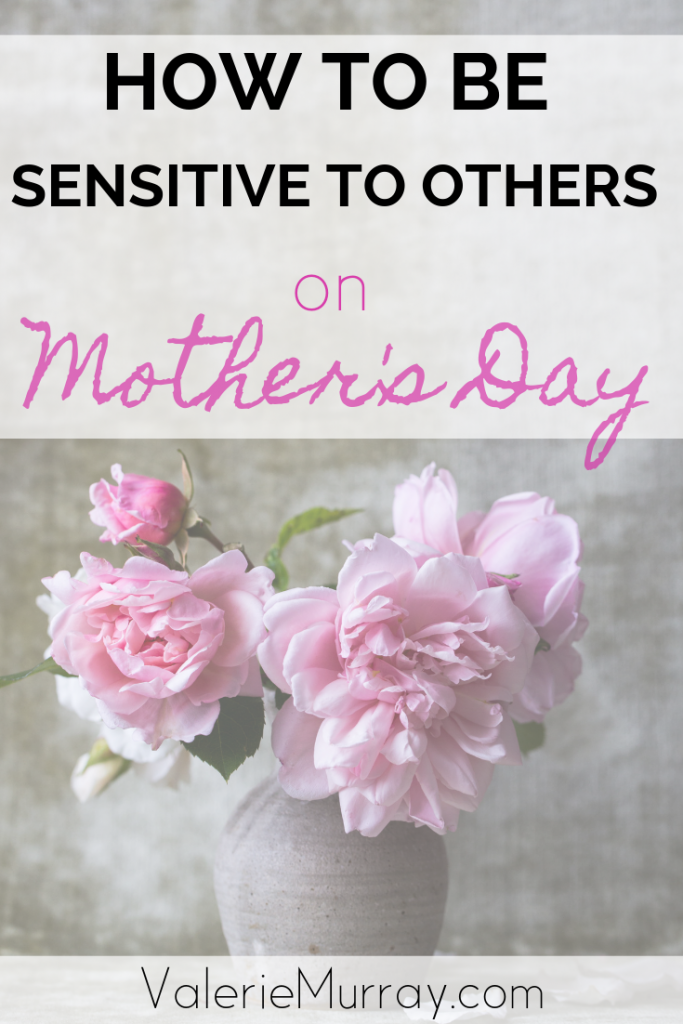 Do you or someone you know feel a sting of pain on Mother's Day? The Bible says to rejoice with those who rejoice and mourn with those who mourn.