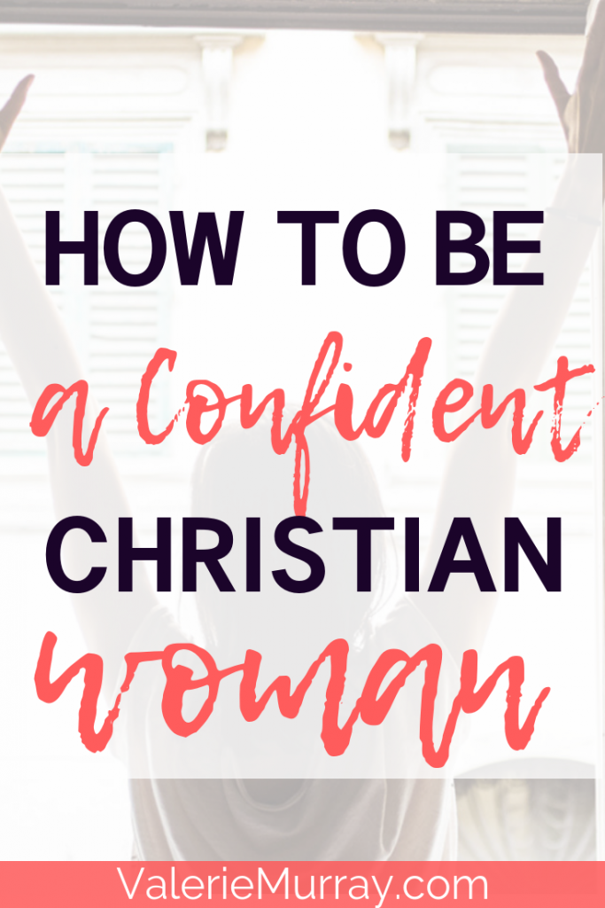 Do you want to be a confident Christian woman? Do feelings of insecurity hold you back from pursuing your dreams and being the woman God made you to be? Learn ways to stand with assurance in God's calling and purpose for your life. #confidence #christesteem #christianwoman