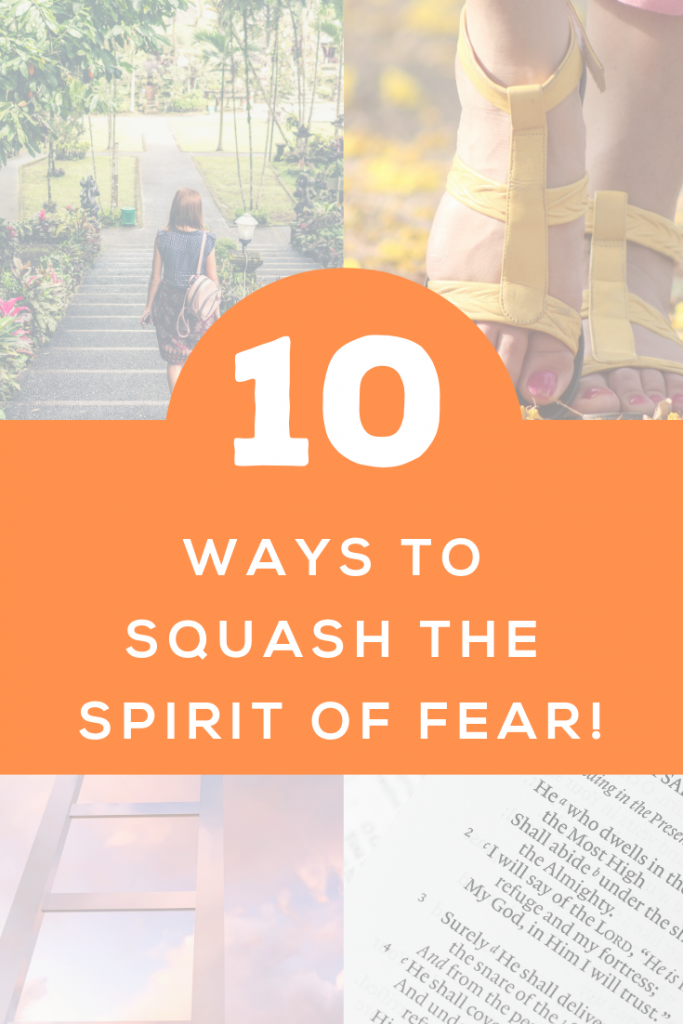 Does fear have a hold on you? Learn 10 ways to break free from the spirit of fear!