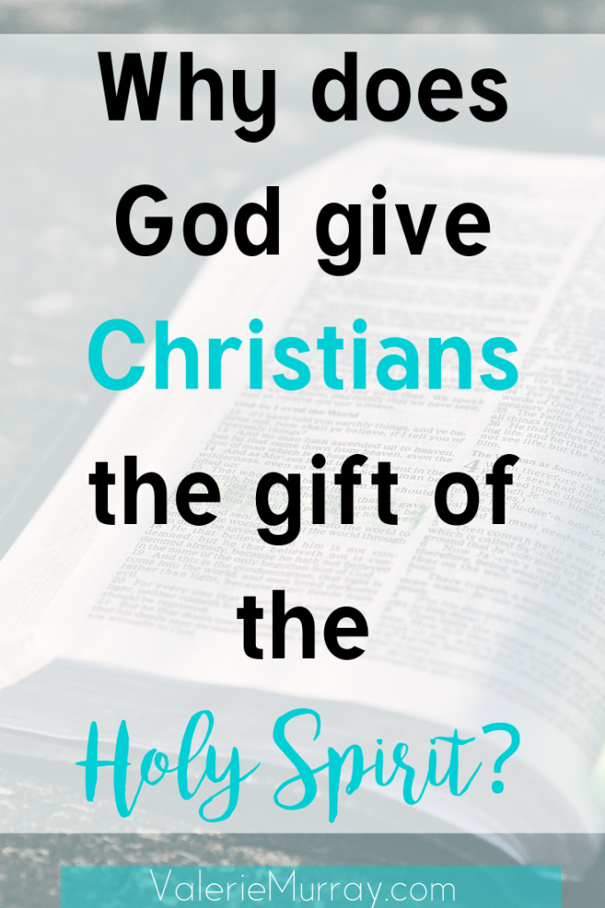 Why does God give Christians the gift of the Holy Spirit? This post introduces four key ways the Holy Spirit works in the life of the believer.