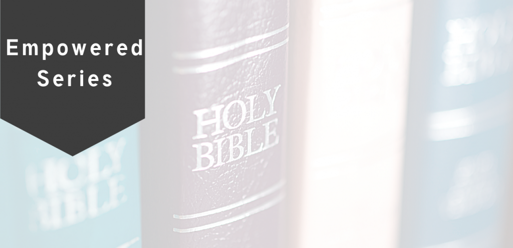 Do you know who the Holy Spirit is? This first post in the Empowered blog series, will help Christians understand the power of God that lives inside them.