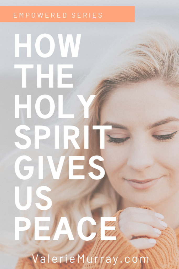 When life is busy and our circumstances are difficult, we are not without hope. Learn how the Holy Spirit gives us peace when life is heard.