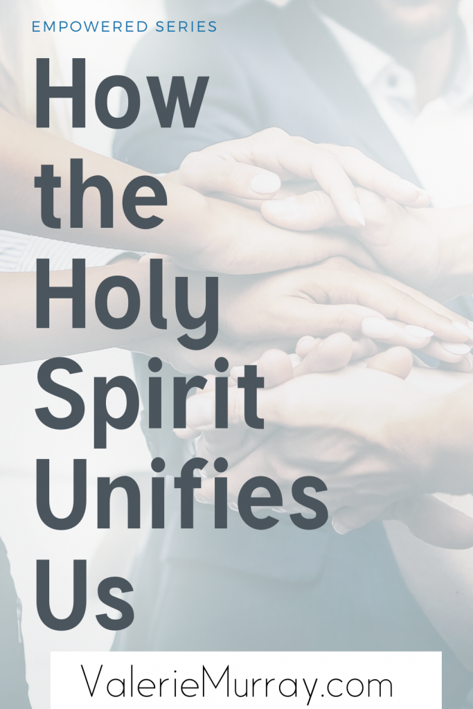 Instead of concentrating on what divides us let's remember what unites us. Learn how the Holy Spirit unifies us so that we can live in peace with others.