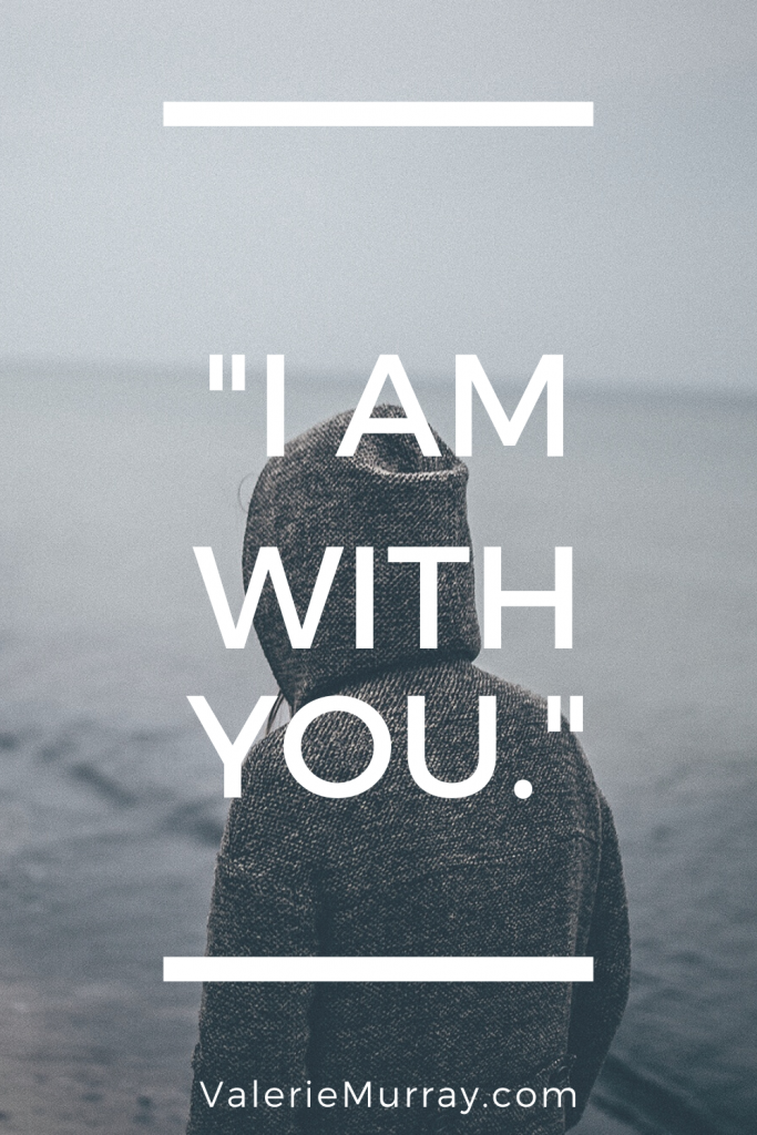"Have you felt anxious about COVID-19. and all the changes happening in our country? God comforts us with the promise of his presence —""I am with you."""