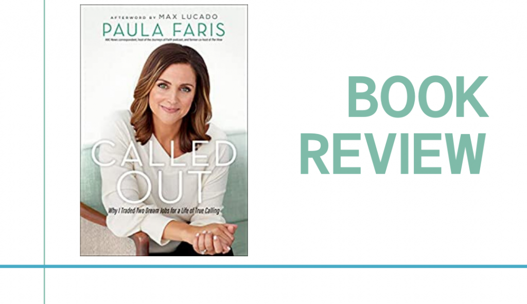 In her book, Called Out Faris shares what she learned about God and herself as she followed her dream to become a successful broadcast journalist.